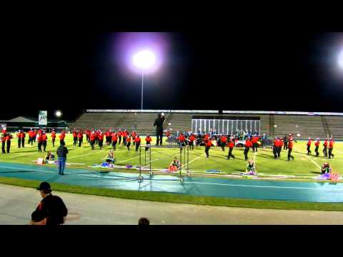Fontainebleau High School Band - Emerald Coast Marching Classic - 10/22/11