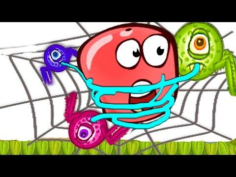 Red BALL 5.  Красный шарик [5] 2. Мультик игра для детей.