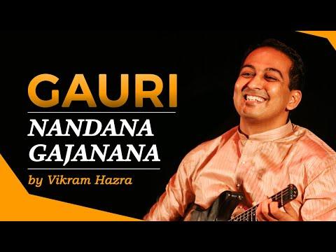 Gauri Nandan Gajanana- Ganesha Bhajan By Vikram Hazra video