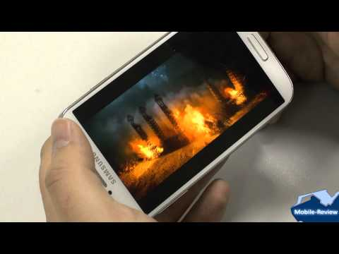 Samsung Galaxy S IV - Smart Scroll и Air view