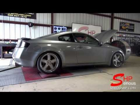 Turbocharged G35 infinity Pump Gas Haltech EMS Engine Management Syste