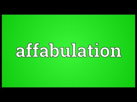 Header of Affabulation