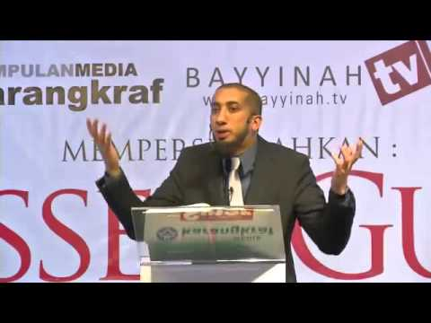Ramadan: The Blessed Guest ~ Nouman Ali Khan ~ New Malaysia 2014!! video