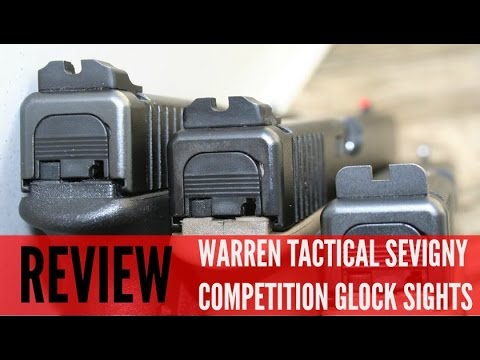 GLOCK MODS! WARREN TACTICAL DAVE SEVIGNY SIGHTS [HD]