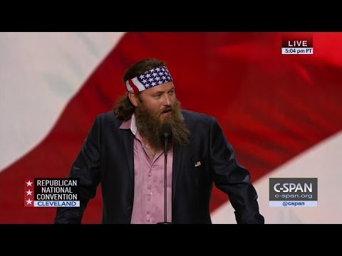 Willie Robertson FULL REMARKS GOP Convention (C-SPAN)