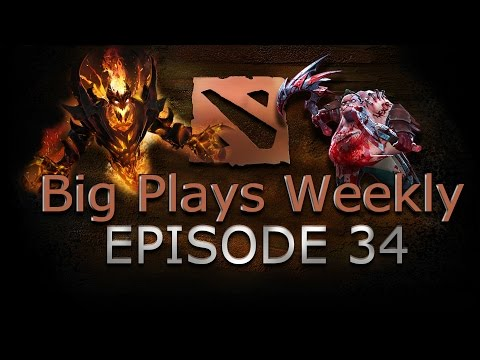 Dota 2 - Big Plays Weekly - Ep. 34