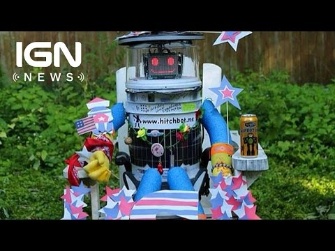 Hitchhiking Robot Attempts to Travel Across the US - IGN News