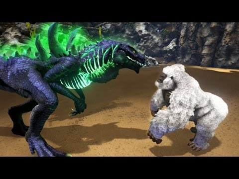 GODZILLA VS KONG!!! - ARK Survival Evolved Modded