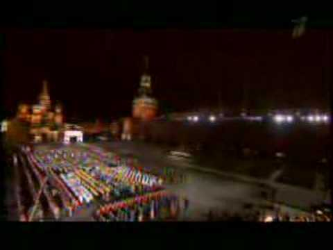 International Military Parade on Red Square