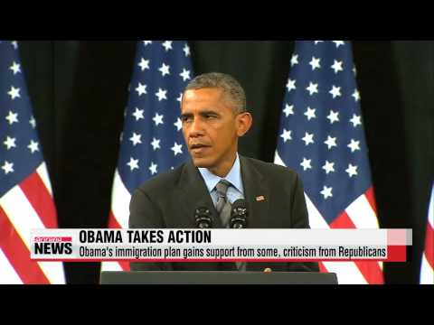 Obama grants immigrants relief from deportation   오바마 이민개혁 행정명령 서명