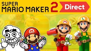 Super Mario Maker 2 Direct Reaction