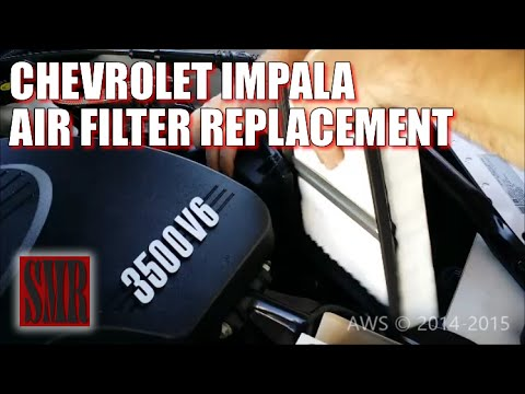 How To Replace Chevy Impala Engine Air Filter