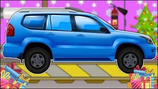 Suv Toy car garage Car video for kids | car cartoons Video for children