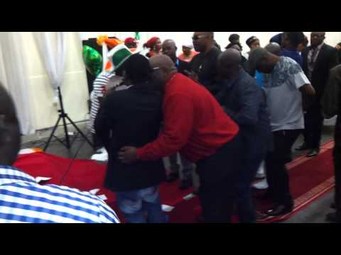 Abass Akande Obesere St Patrick's Day Dublin video