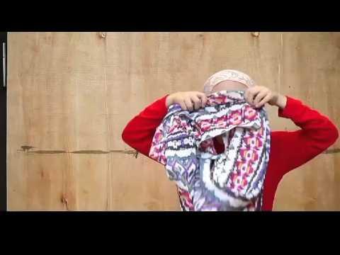 Jilbab insTan by House of Ritsafa Jilbabsiap pakai.