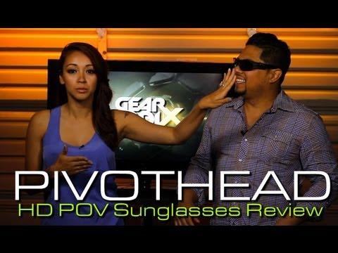 Pivothead 1080p HD Video Recording POV Sunglasses