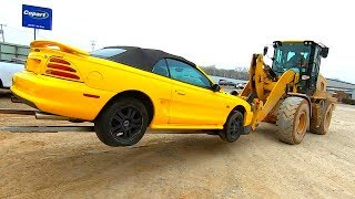 Copart 94 Ford Mustang GT 5.0L - Sat for 3 Years!! $1485 Win!!