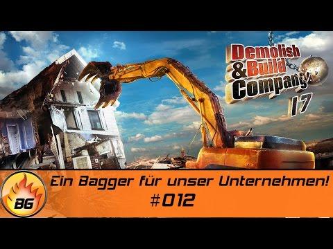 Demolish & Build Company 2017 #012 | Ein Bagger für unser Unternehmen! | Let's Play [HD]
