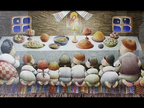 О Рождестве и серии моих видео о постных блюдах на Святой вечер
