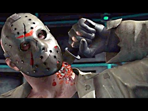 Mortal Kombat X Jason Voorhees Fatality Fatalities Brutalities Gameplay