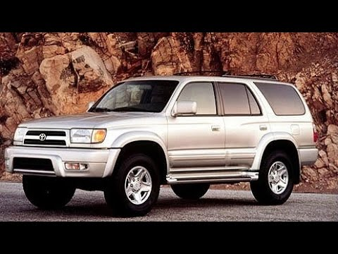 2000 Toyota 4Runner Limited Start Up. Road Test. & Review 3.4 L V6