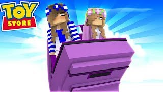 RETURNING TO THE OLD TOYSTORE! w/Little Carly and Little Kelly (Minecraft Toystore).