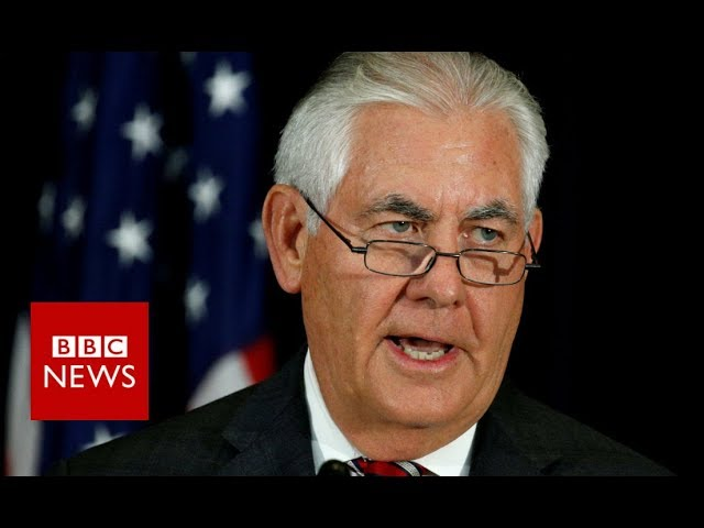 Rex Tillerson: North Korean leader didn't understand diplomatic language - BBC News
