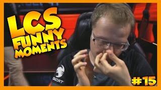 LCS Funny Moments #15 - League of Legends