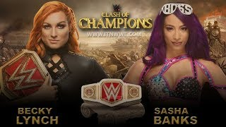 WWE clash of champions 2019 Highlights Results
