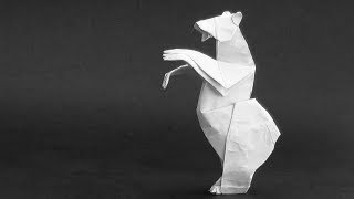 Origami Instructions: Grizzly Bear (quentin Trollip)