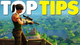 10 Ultimate Fortnite Battle Royale Tips