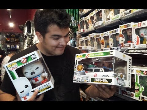 Toy Hunting: Ghostbusters Ecto-1 & burnt Stay Puft Marshmallow Man Funko Pops