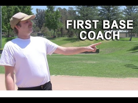 First Base Coach With Kent
