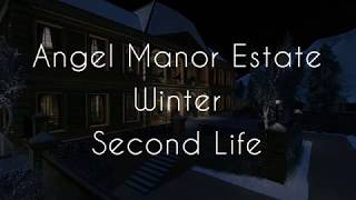 Angel Manor Estate Winter Second Life