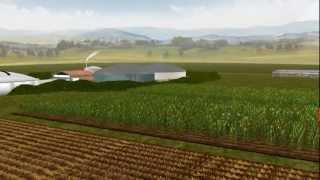Tour virtuale di un impianto a biogas