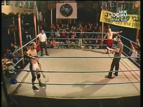 IPWA Israeli Wrestling - IPWA Championship Match - Sharon Palty vs Yossi 'The Bull' 1/3