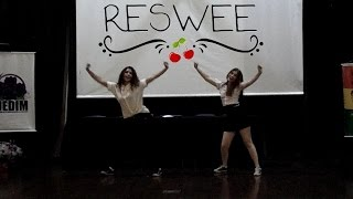 RESWEE cover BLACKPINK - BOOMBAYAH + TWICE - CHEER UP + BTS - DOPE @ENEDIM