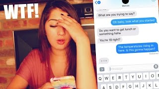 SONG LYRIC PRANK GONE WRONG -  MY MANAGER ASKS ME OUT!