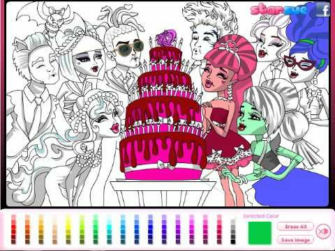 Get Free High Quality HD Wallpapers Coloring Pages Monster Games