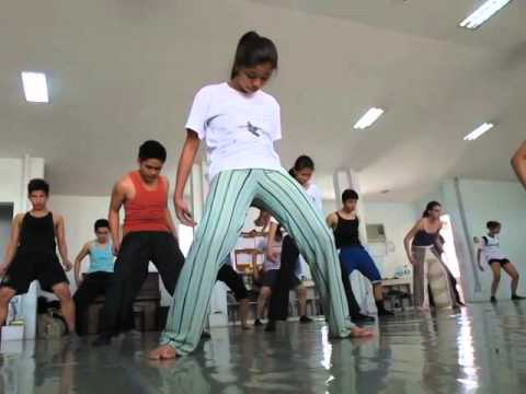 Macho Dance Class Eisa Jocson Philippines Feb 2014