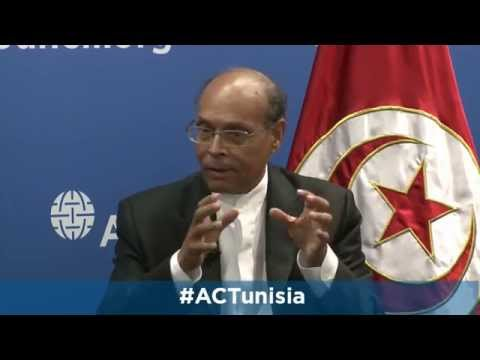 Tunisia's Democratic Successes: A Conversation with the President of Tunisia Mohamed Moncef Marzouki