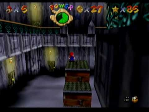 Super Mario 64 Ghost House Super Mario 64 Walkthrough go