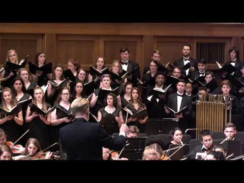Hubert Parry: I Was Glad - Lawrence University Choirs & Symphony Orchestra - 04.26.19