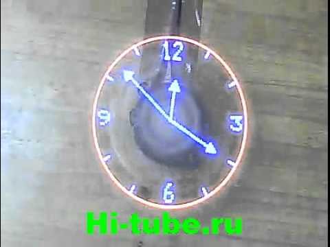 Часы проекционные часы своими руками 87