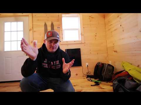 Tiny House - Envi Stealth Heater Installation & Review