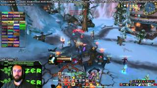Bajheera - Epic FINAL STAND in Alterac Valley - 6.1 WoW Warrior PvP