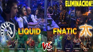 "LIQUID vs FNATIC [BO1] - Eliminación ""Miracle vs Abed"" - TI9 THE INTERNATIONAL 2019 DOTA 2"