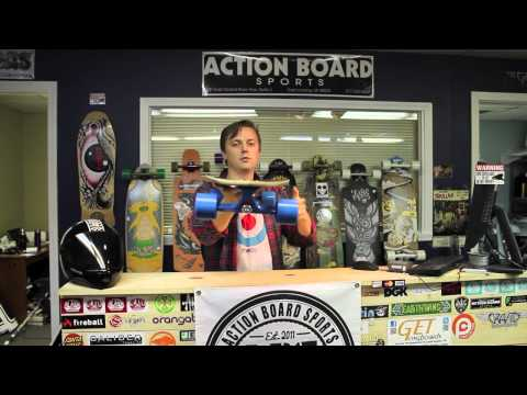 Action Board Sports Reviews the Bustin Ratmobile Longboard Skateboard