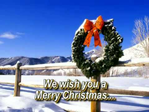 We Wish You A Merry Christmas   with Lyrics 360p