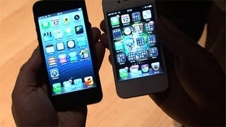 Apple iPhone 5 vs iPhone 4S hands-on